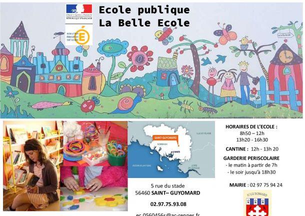 """Permanence Ecole Publique """"LA BELLE ECOLE"""""""